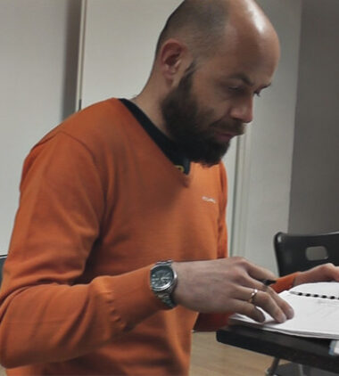 Łukasz Bieniek - wykladowca Krakowskich Szkol Artystycznych