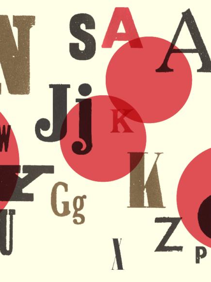 Projekt płaskich liter