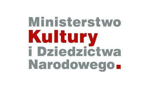 logo Minsterstwo Kultury i Dziedzictwa Narodowego